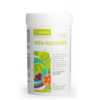 Vita-Squares, Children´s Food supplement, chewable tablets
